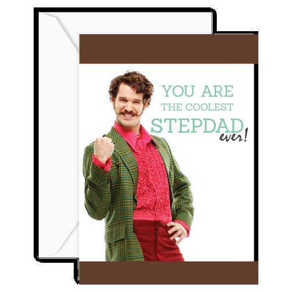 coolest stepdad w:envelope