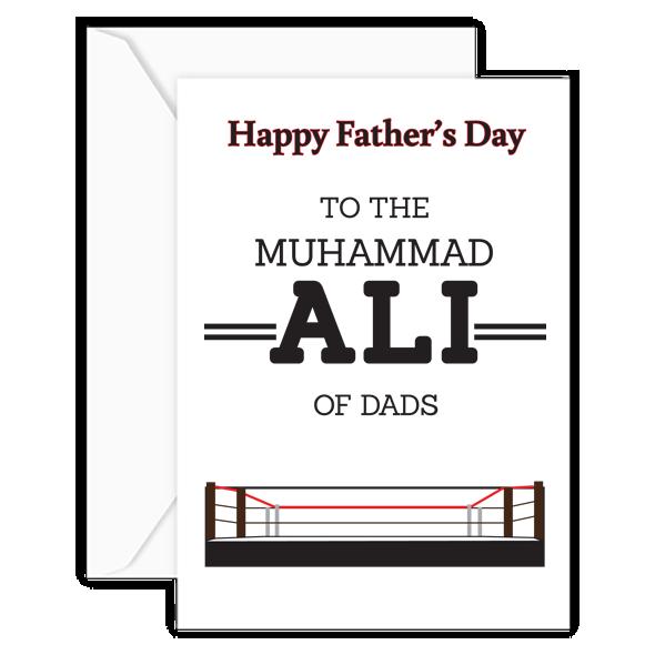muhammad ali w:envelope