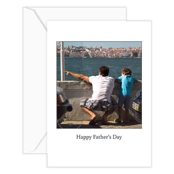 pointed in the right direction father's day w:envelope