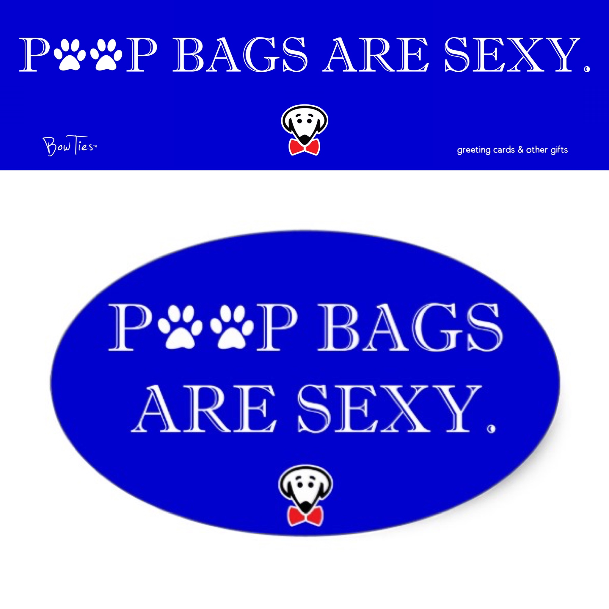 poop bags are sexy both