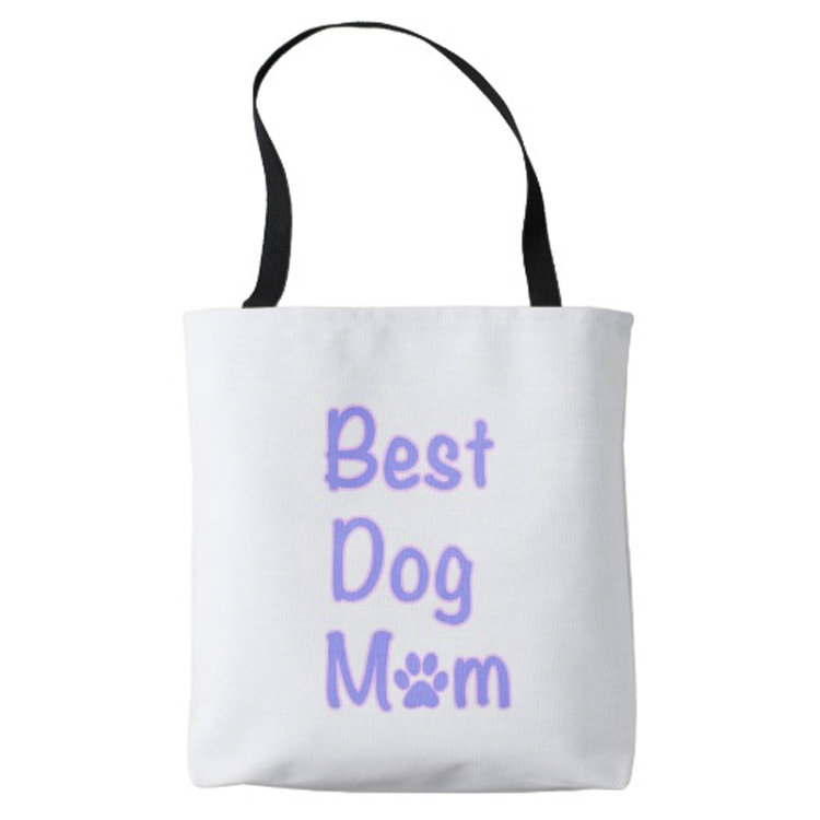dog mom tote pic