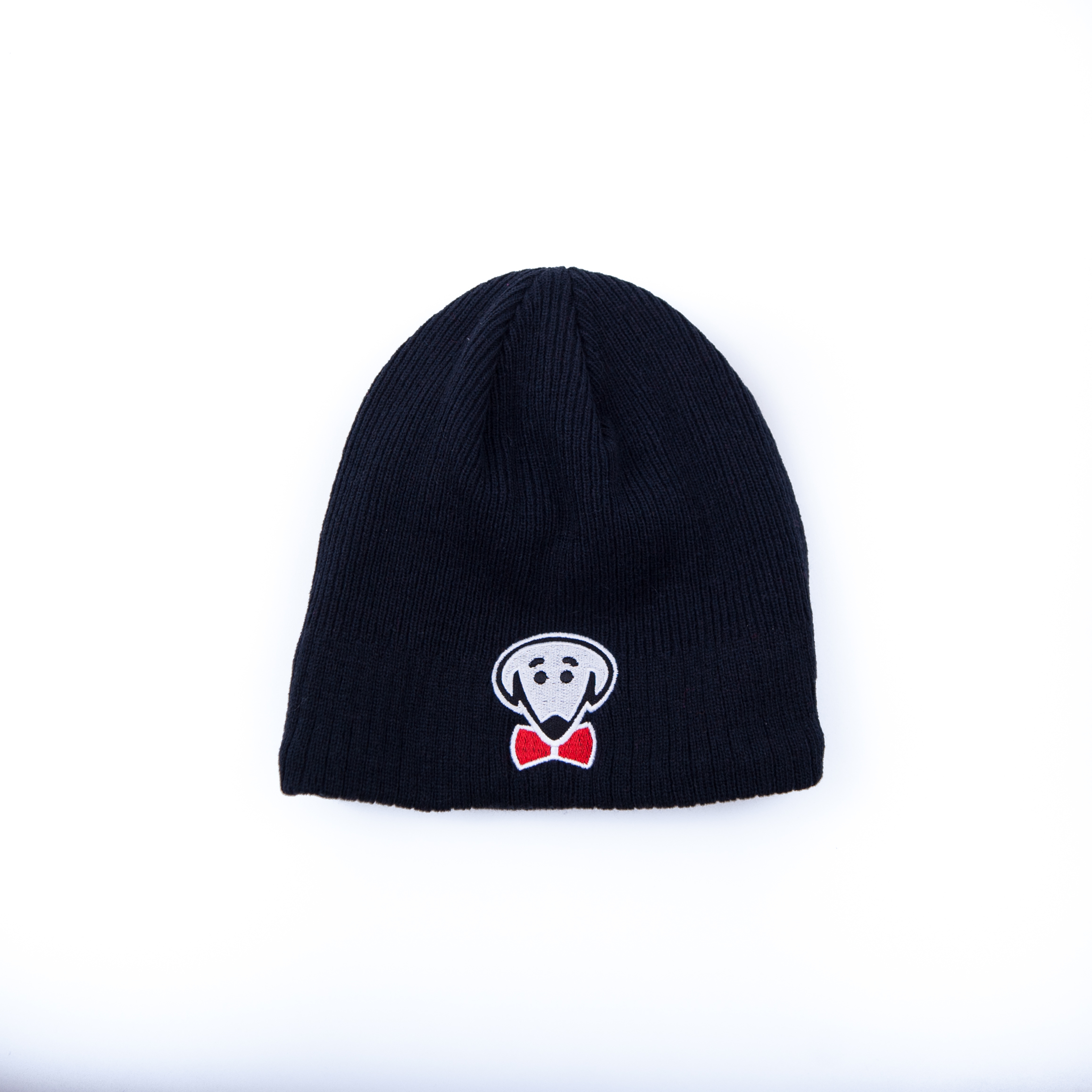 Navy blue or red fleece-lined New Era knit beanie-Be Warm, Look Cool