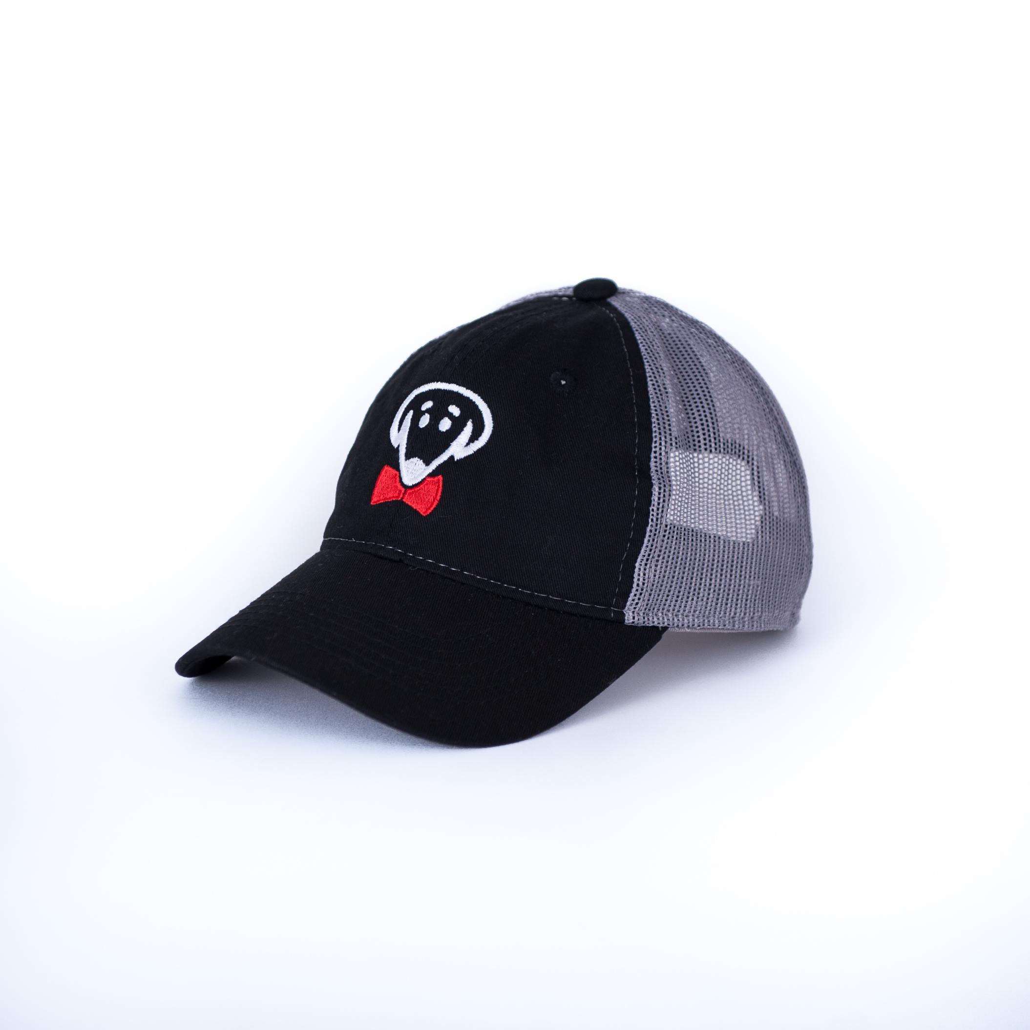 Beau Tyler – Ezra Baseball Cap – Black and Dark Gray