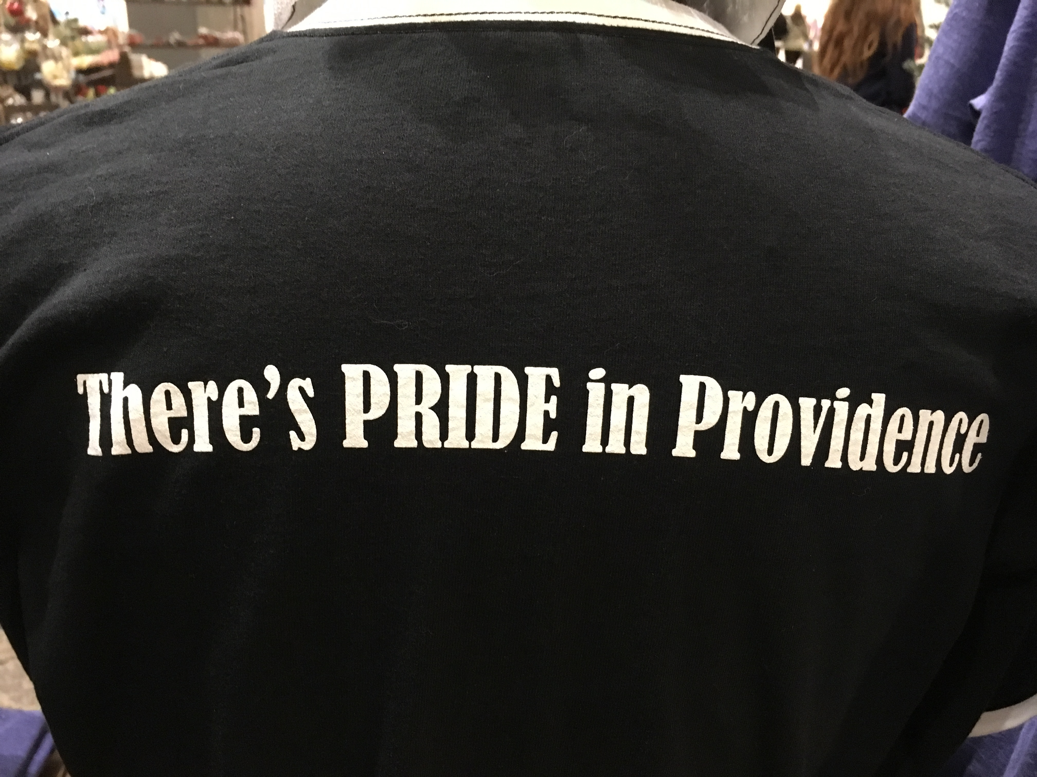 PRIDE in PRovIDencE t-shirt