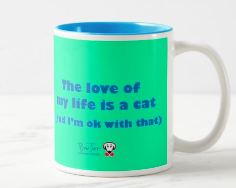 The love of my life is a cat (and I'm ok with that) – mug
