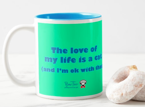 The love of my life is a cat (and I'm ok with that) – mug
