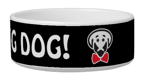 For the Big Dog! -dog bowl