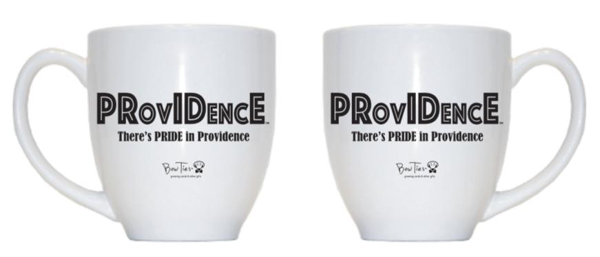 PRovIDencE: There's PRIDE In Providence – bistro mug