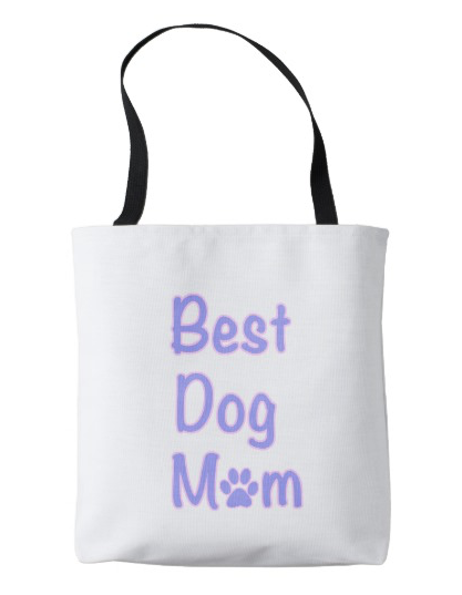 Best Dog Mom – tote bag