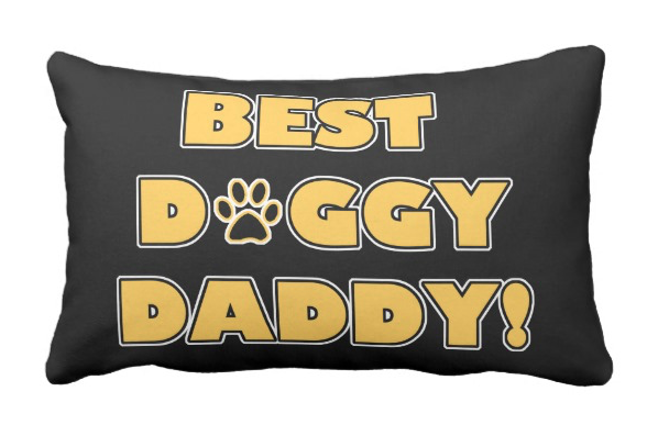 Best Doggy Daddy!/Best Doggy Mommy! – pillow
