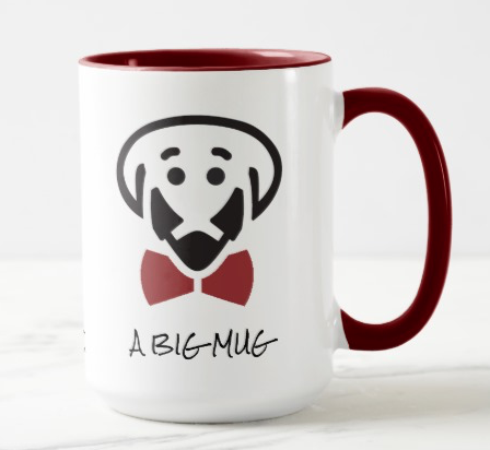 Big Mug For A Big Stud! – jumbo mug