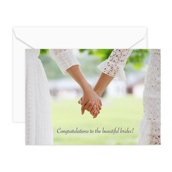 Congratulations to the beautiful brides!