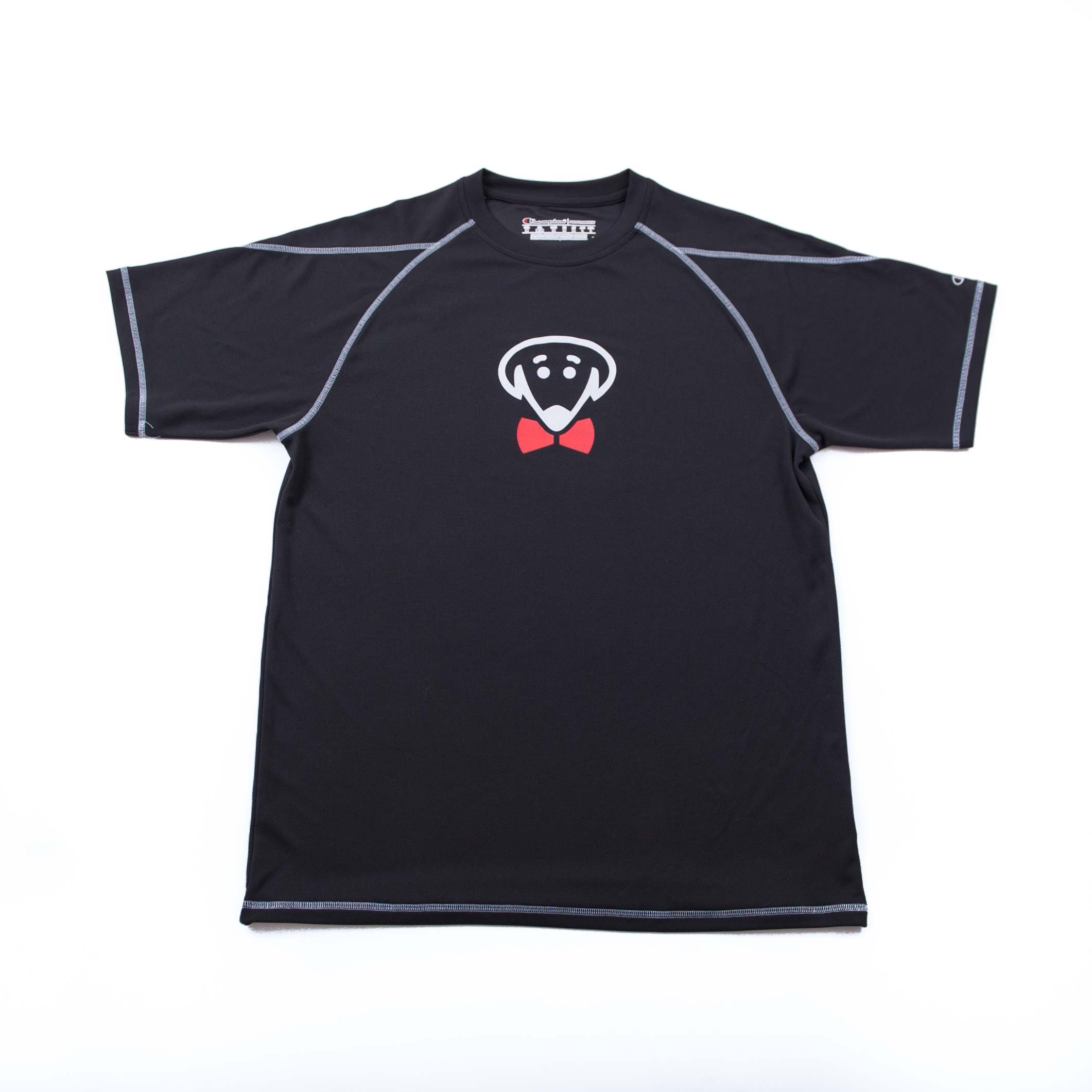 Bow Ties Black Dry-Fit T-shirt