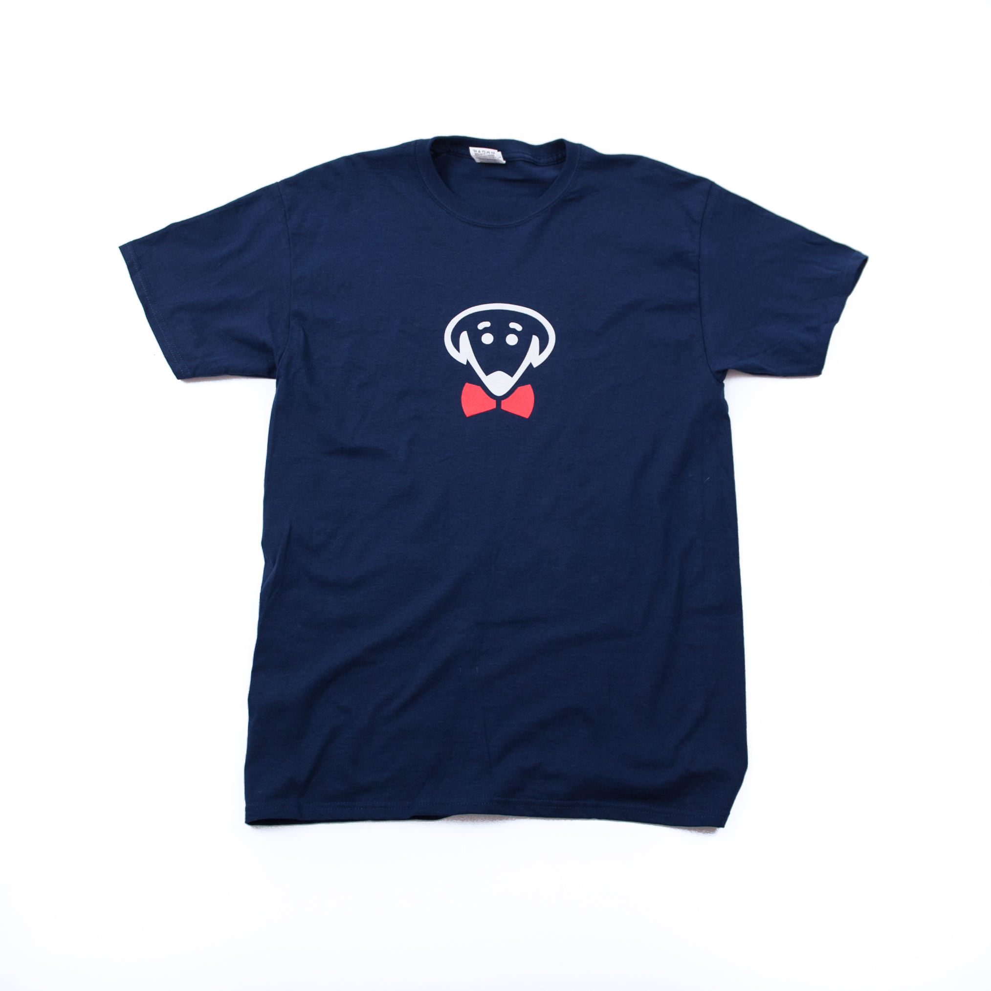 Bow Ties logo t-shirts – Navy Blue