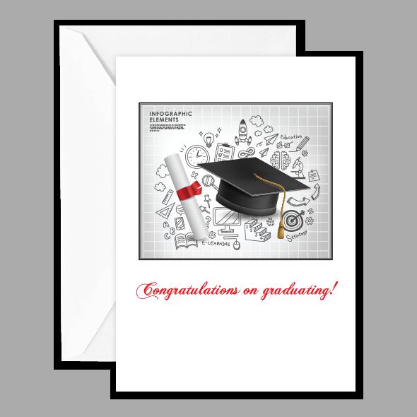 Congratulations on graduating!