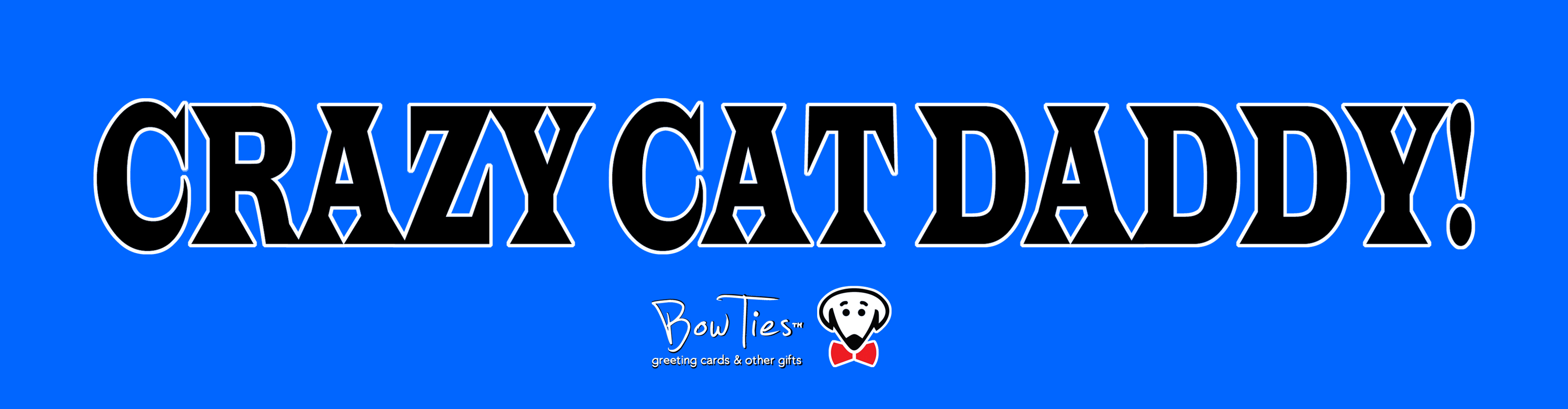 Crazy Cat Daddy – sticker