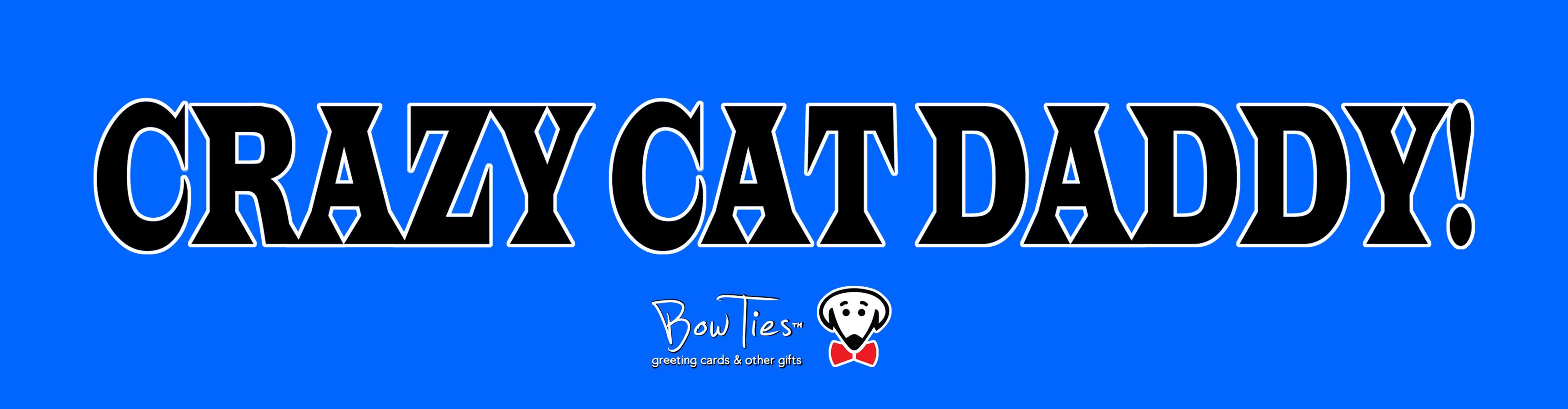 Crazy Cat Daddy – sticker