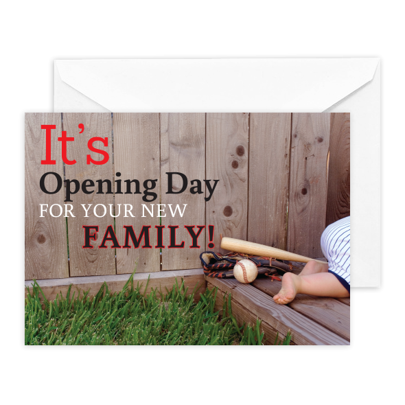 It's Opening Day for Your New Family!