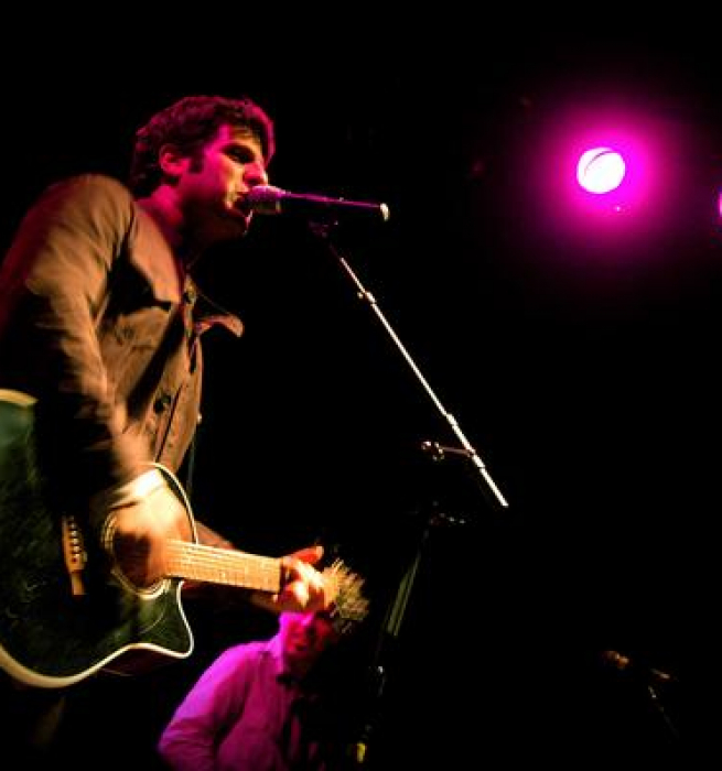Phil performing