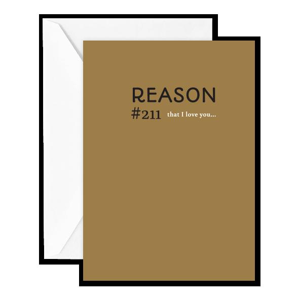 Reason #211 that I Love You…