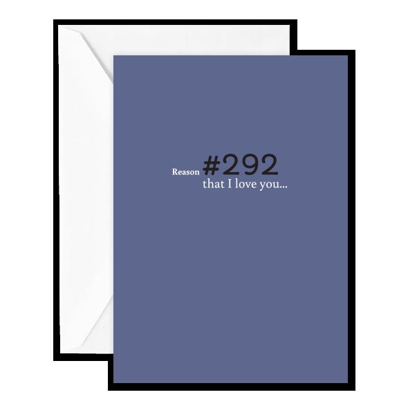 Reason #292 that I Love You…