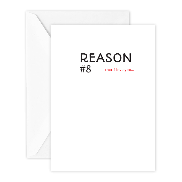 Reason #8 that I Love You…