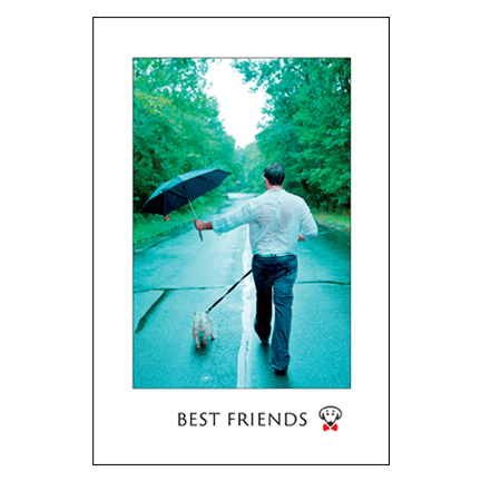 Best Friends – large magnet