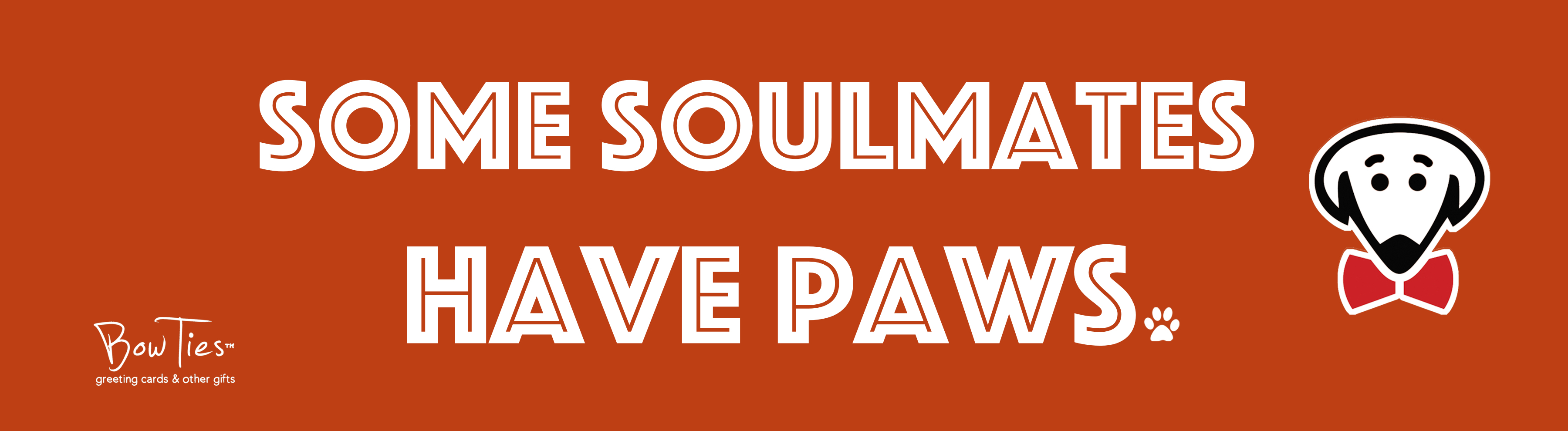 Some soulmates have paws – sticker