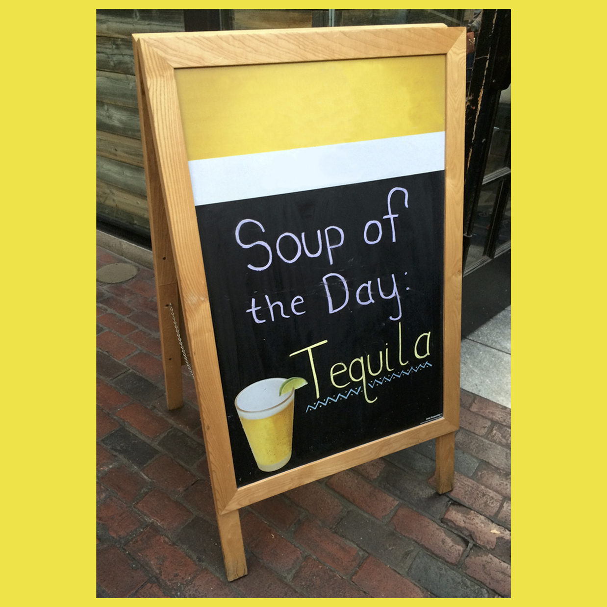 Soup of the Day: Tequila – coaster set