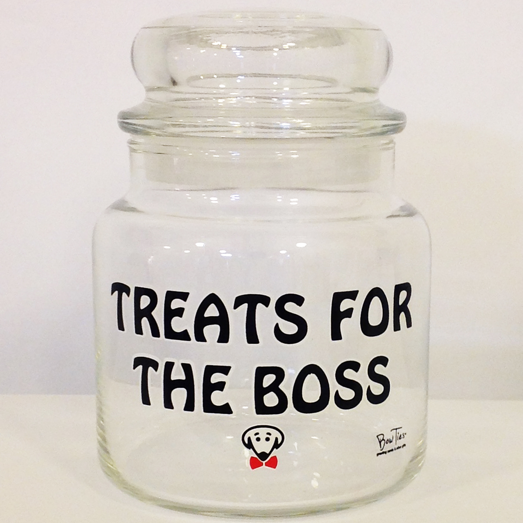 Treats for the Boss – pet treat jar